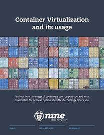Container Virtualisation and its usage @nine