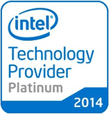 nine logo intel technology provider platinum