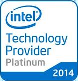 nine logo intel technology provider platinum