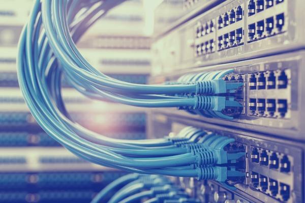 Hosting-netzwerk-kabel