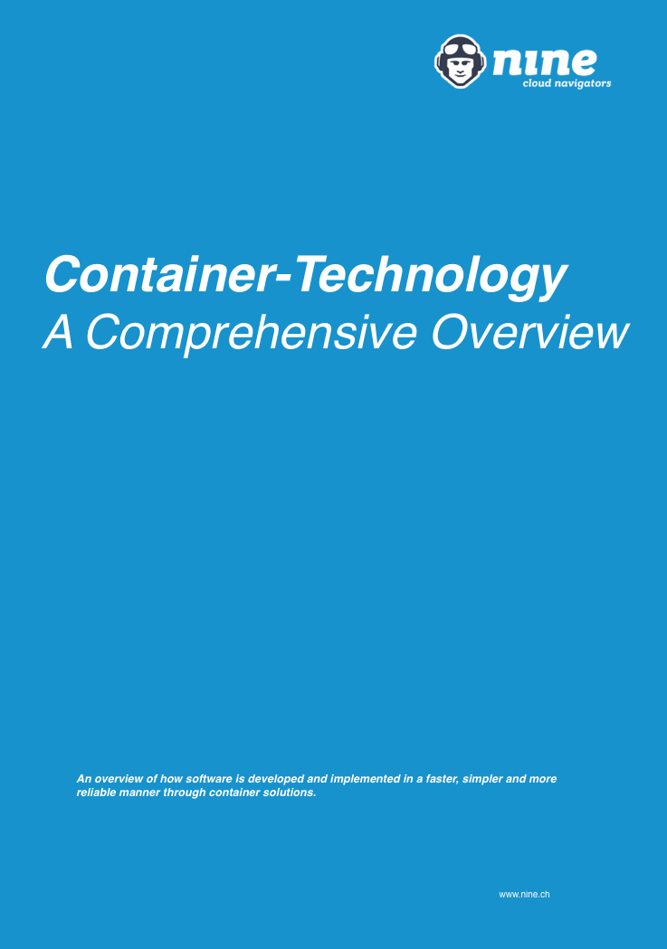 Nine Tech Whitepaper Container Technology
